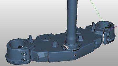 3d модель нижней траверсы