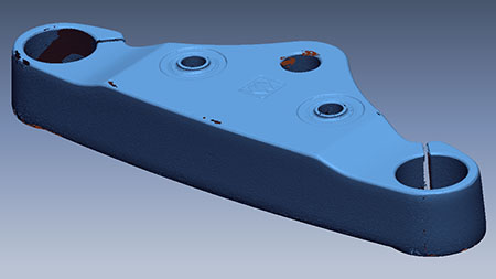 3d модель верхней траверсы