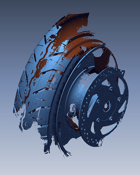 3d модель колеса