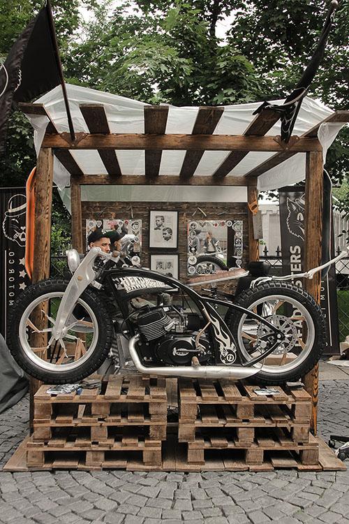 box39 вместе с headbusters на Harley Days 2016