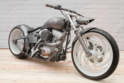 Кастом Harley-Davidson мастерской box39