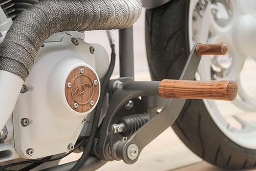 Кастом подножка мотоцикла Harley-Davidson