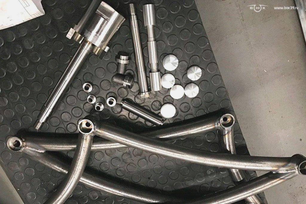 Токарные работы box39 мотоцикл springer fork