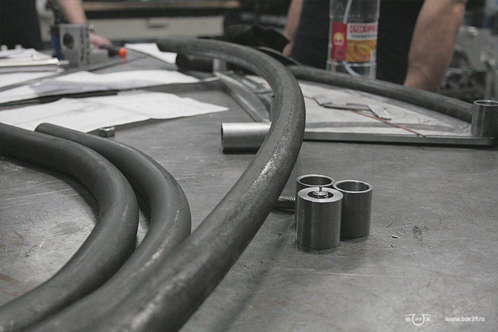 Прокатный трубогиб box39 мотоцикл springer fork