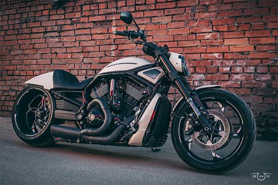Harley-Davidson V-ROD. Стилизация мастерской box39