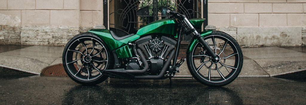 Кастом мотоцикл Harley-Davidson VINCI мастерской box39