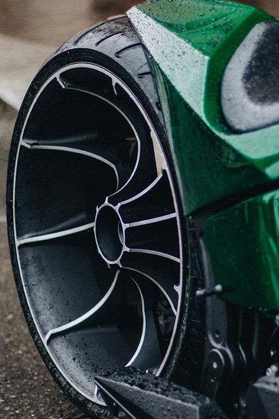 Уникальное заднее 3d колесо мастерской box39
