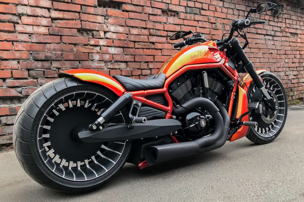 Harley-Davidson V-ROD «ORANGE»